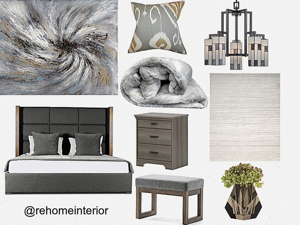 Bedroom Inspo Brown Ivory Amp Gray Rehome Interior
