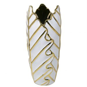 decorative gold vase lead