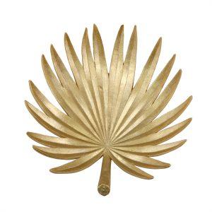 banana gold leaf serving tray decorative bowl
