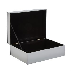 decorative boxes silver